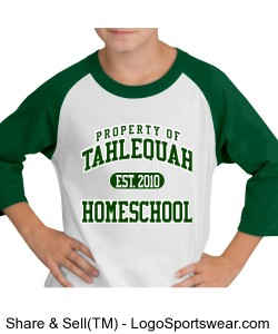 Tahlequah Homeschool youth jersey Design Zoom