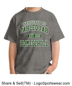 Youth Tahlequah Homeschool T-shirt Design Zoom